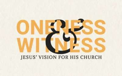 Oneness & Witness In A World On Fire