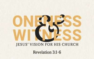 Oneness & Witness, Part 6: Through the Presence and Power of the Holy Spirit