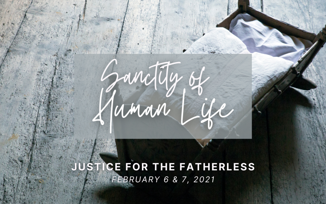 Sanctity of Human Life 2021: Justice for the Fatherless